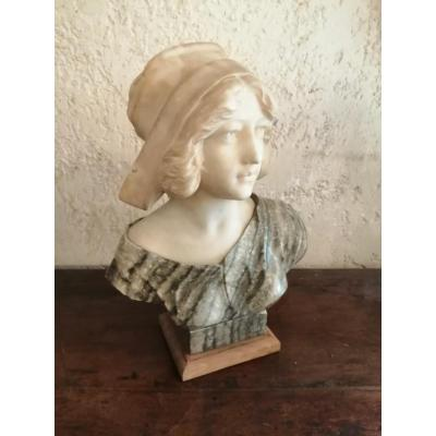 19th Century Marble Bust.