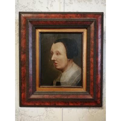 Portrait De Femme /peinture Hollandaise