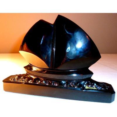 Auguste Houillon-cristallerie