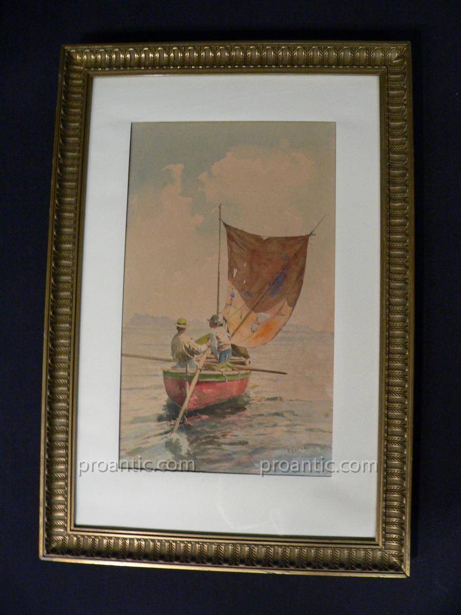 Marine De Loria Vincenzo XIXème