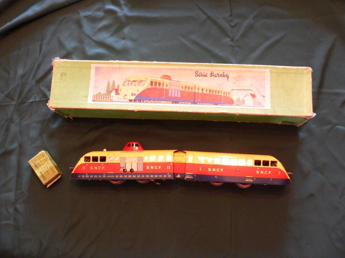 Electric Railcar Bugati Brand Mecano