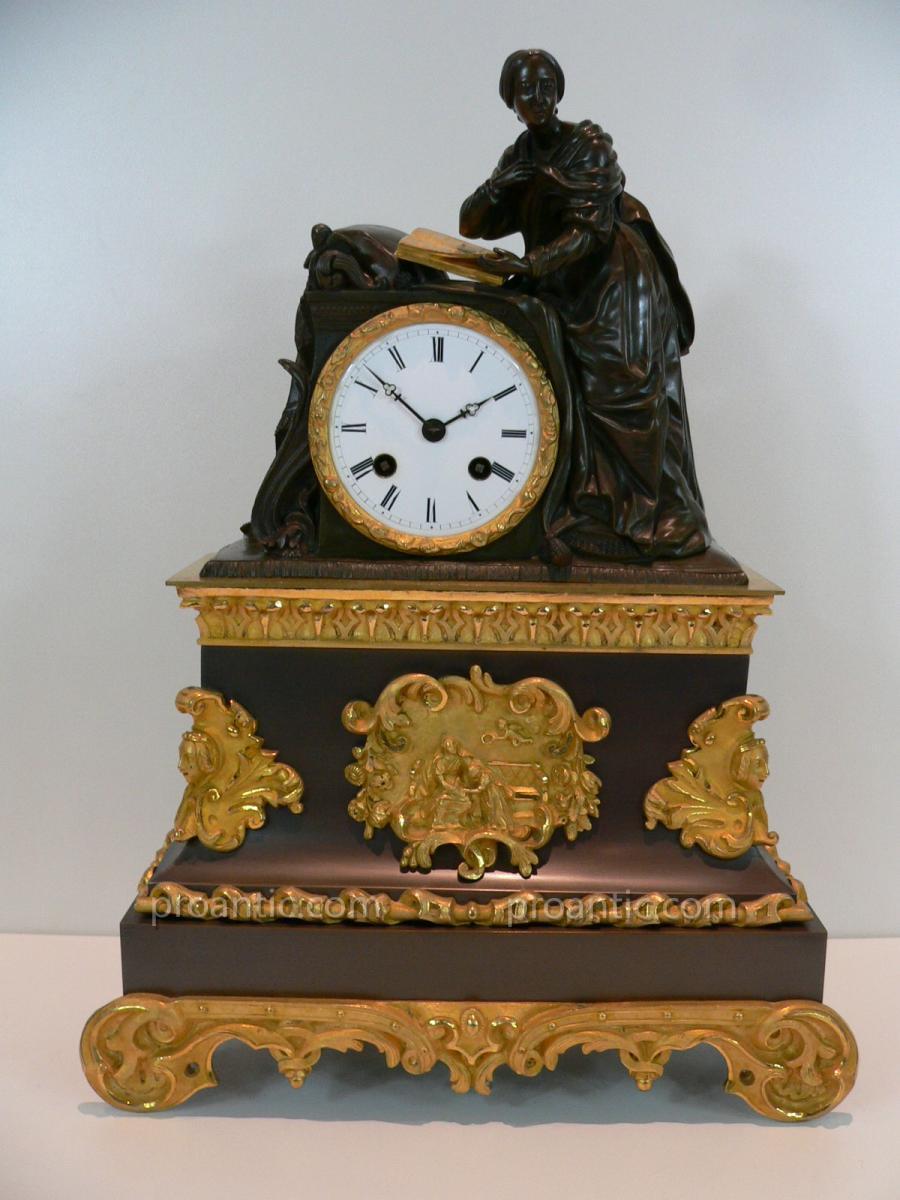 Pendulum Gilt Bronze Nineteenth