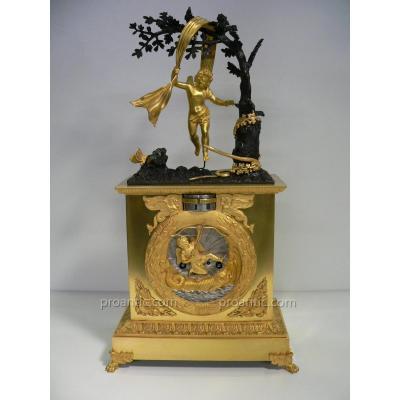 Pendulum Gilt Bronze XIXth