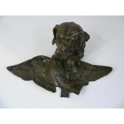 Encrier En Bronze XIXème
