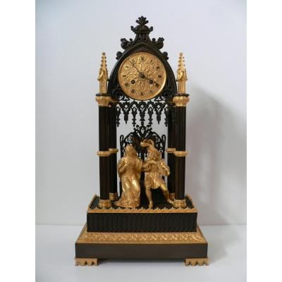 Clock At The Cathedral Early Nineteenth Charles X Era