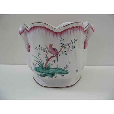 Cooler In Earthenware From Lunéville XVIIIth