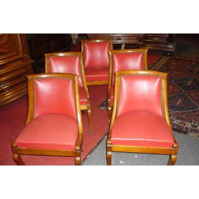 Chaise ancienne tabouret ancien sur proantic empire for Chaise 19eme siecle