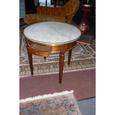 Table Bouillotte louis XVI epoque N III