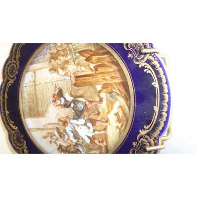 Assiette De Porcelaine 19ème siècle