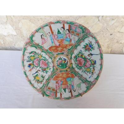 Plat Porcelaine Chinoise