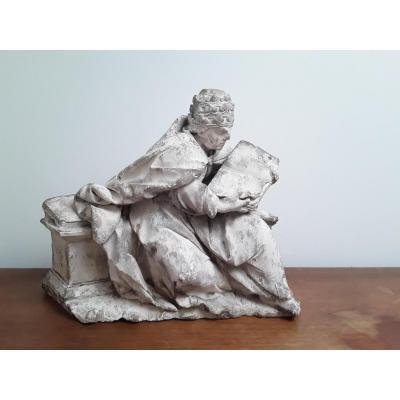 Sculpture En Pierre Calcaire 16ème