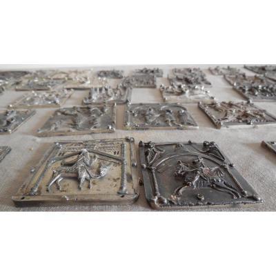Platelets Silver, 19th, Reprise De La Porte De Verona