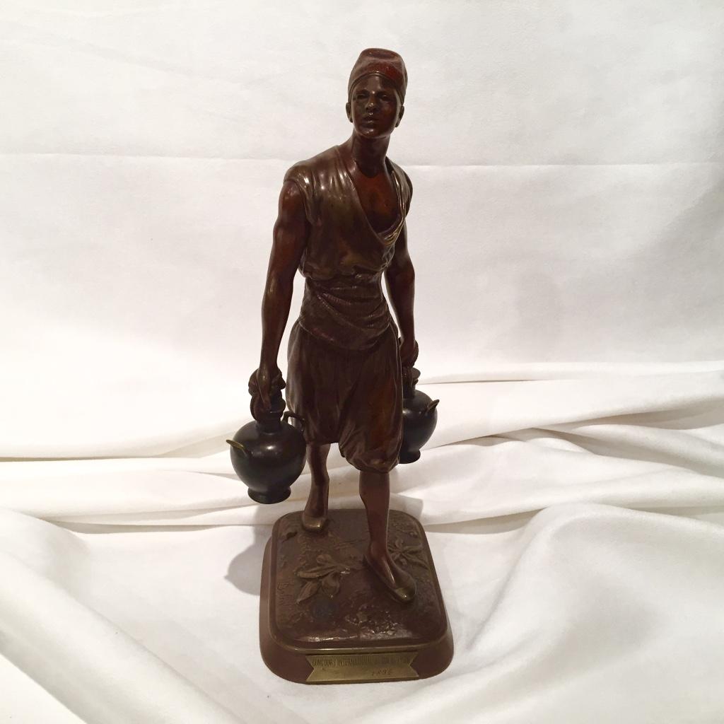Sculpture En Bronze Signée Debut, époque XIXème