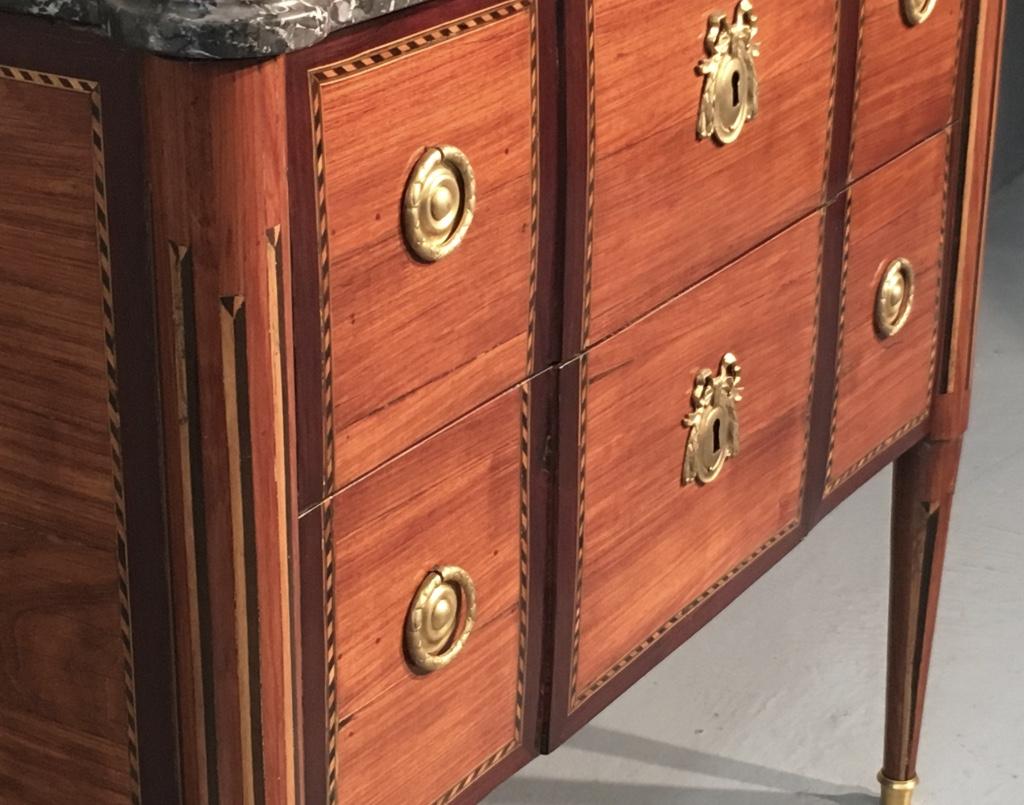 Commode d'époque XVIIIème estampillée Chaumond-photo-3