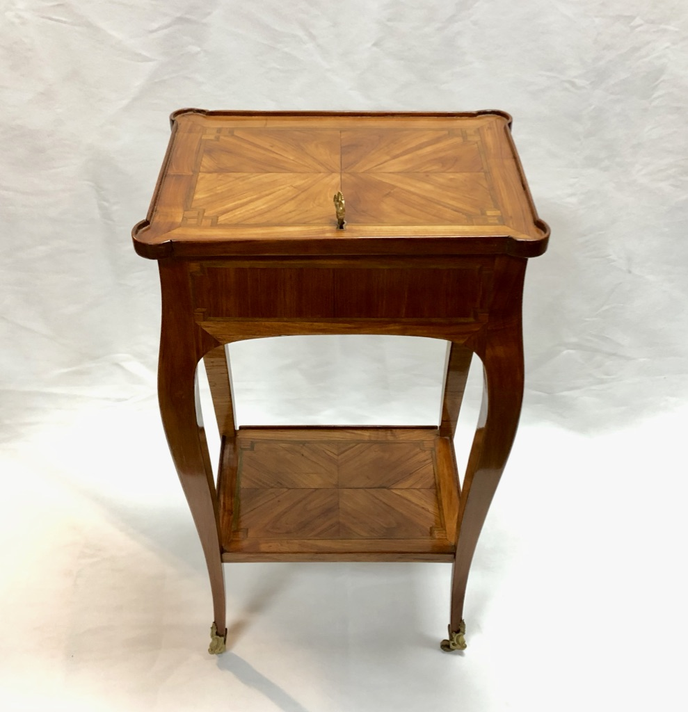 Small Louis XV Table Stamped Bircle, Eighteenth Time