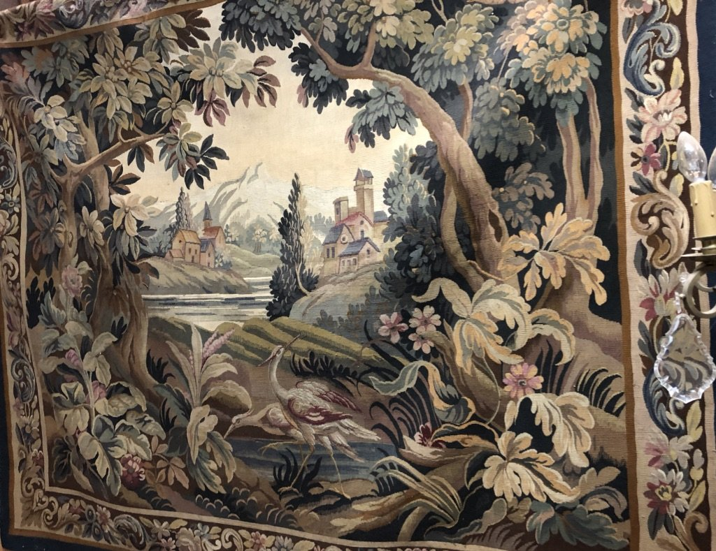 Tapisserie Aubusson époque Fin XVIIIè