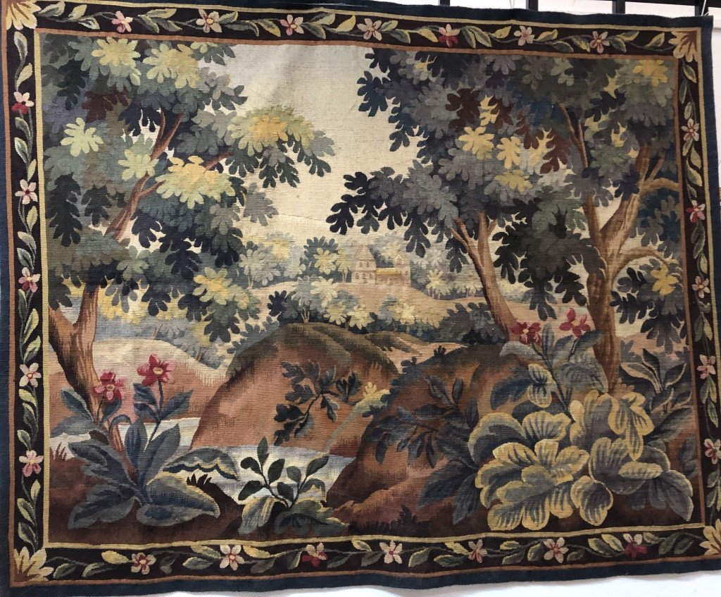 Aubusson Tapestry Late Eighteenth - Early Nineteenth