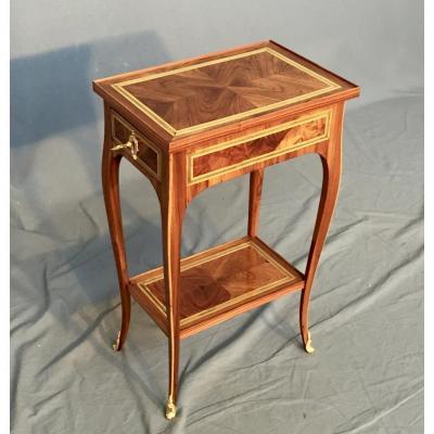 Petite Table Volante d'époque XVIIIème, Estampillée J.b Vassou