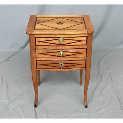 Petite Table Volante Dessus Ouvrant, époque XVIIIème