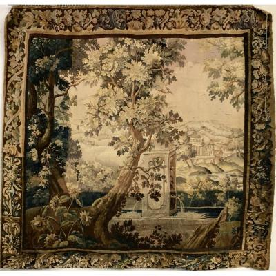 "Aubusson Tapestry ""greenery"" Eighteenth Time"