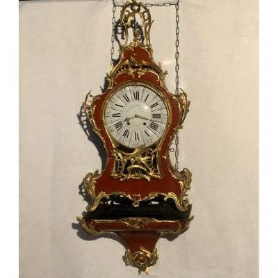 Important Applique Cartel In Lacquer, Signed Causard, Eighteenth Time