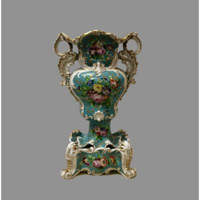 19th Century Paris Porcelain Vase