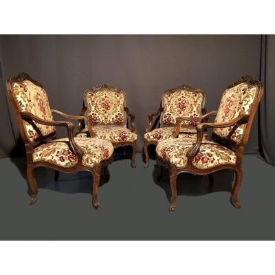 4 Chairs 19th Century