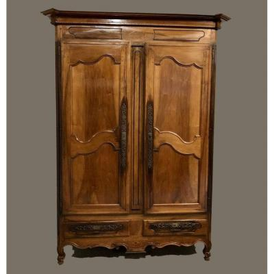 Louis XV Cabinet In Walnut