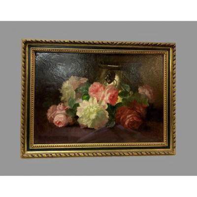 Oil On Canvas Signed Bonnardel