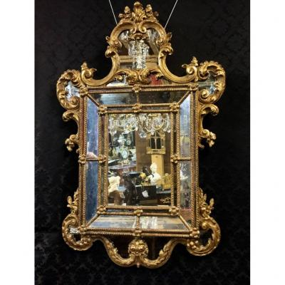 Mirror In Golden Wood, Eighteenth Time