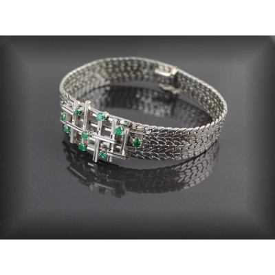 Bracelet Or Gris - 36.5 G