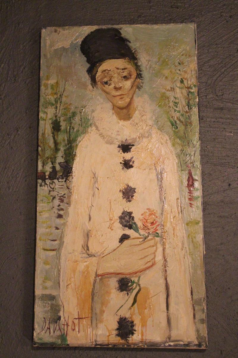 "70's ""dauchot"" Painting"