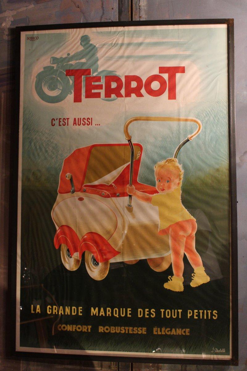 Terrot Brand Poster