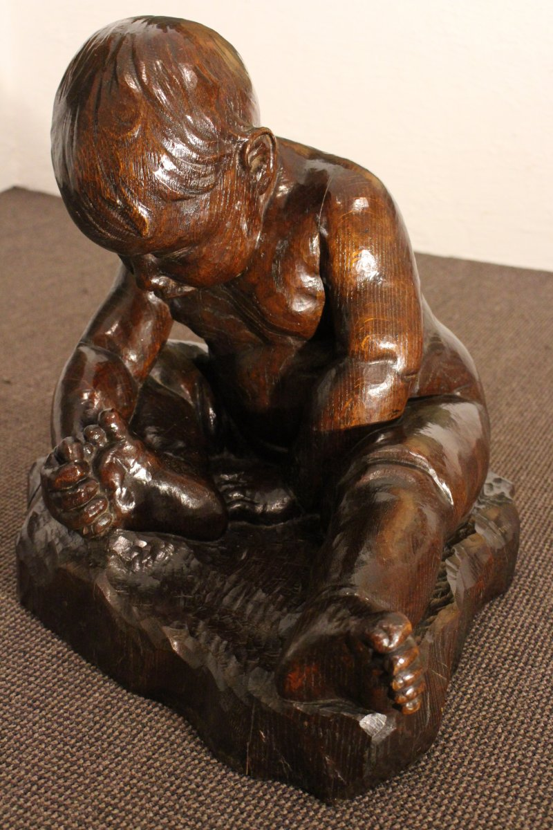 Sculpture D'auguste Cornu,