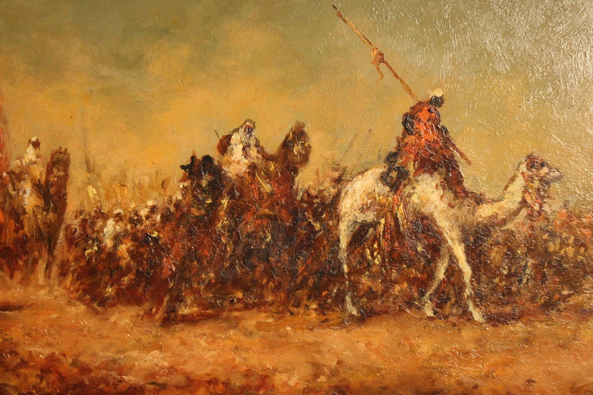Orientalist Painting By F-alarcon-photo-2