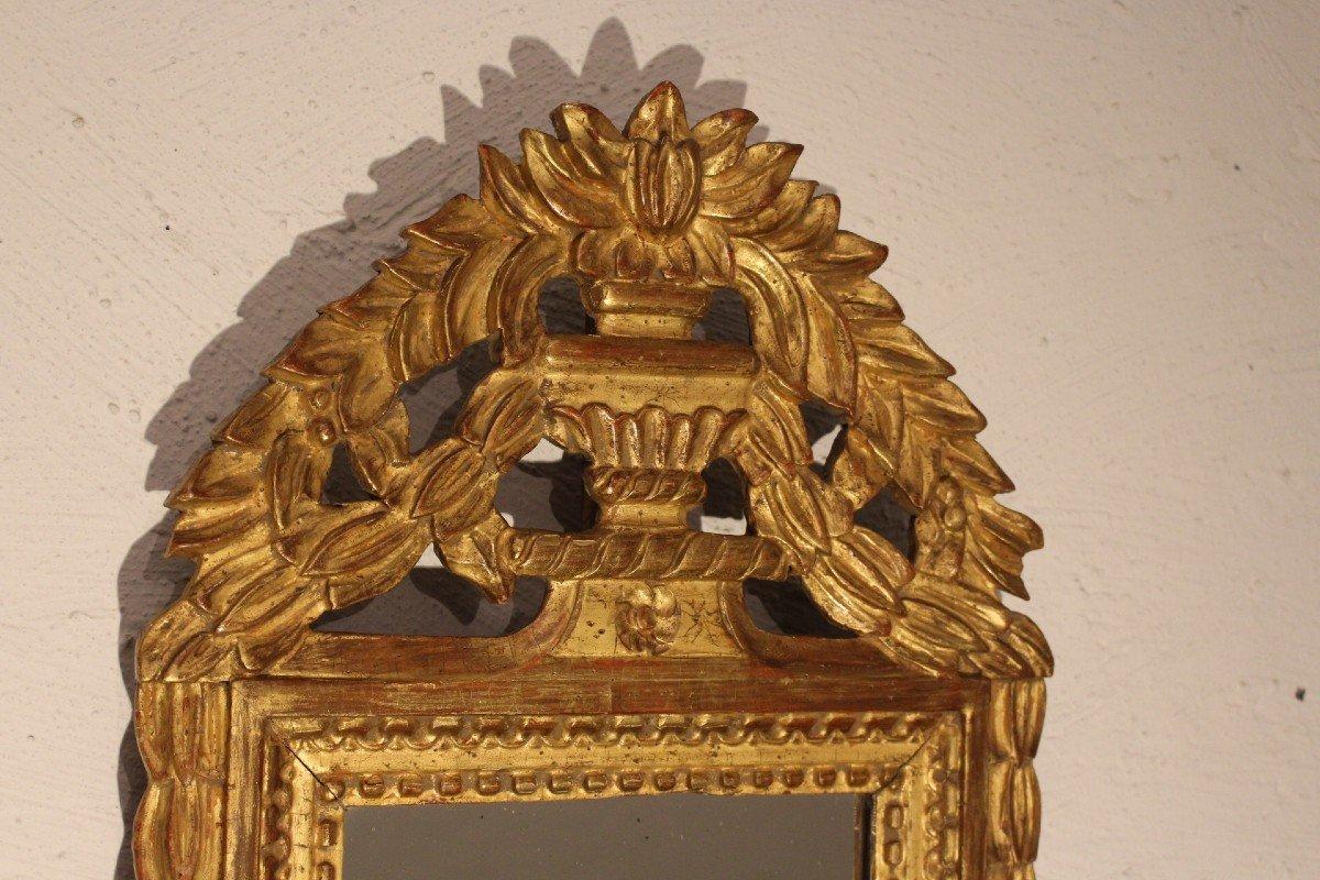 Miroir 18 éme Siècle Louis XVI-photo-2