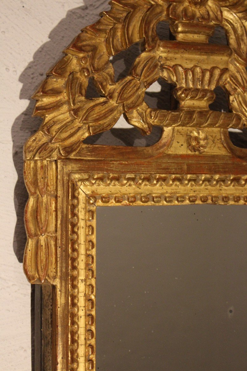 Miroir 18 éme Siècle Louis XVI-photo-3