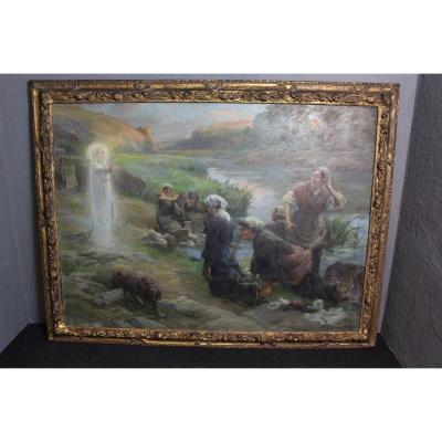 Peinture «Eugène DELECLUSE»