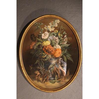Pastel De Bouquet De Fleurs