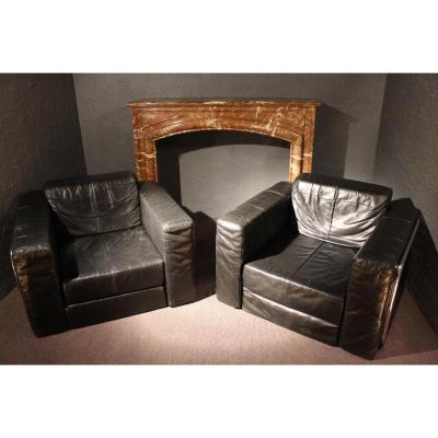Pair Of Armchairs Design.