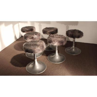 Set Of 6 Stools