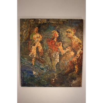 Painting Of Berthon