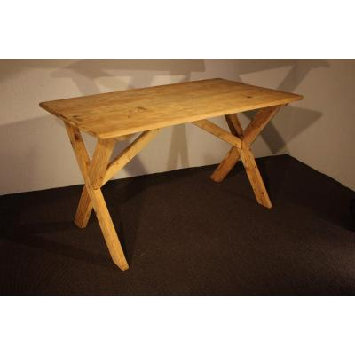 Table En Sapin Naturel