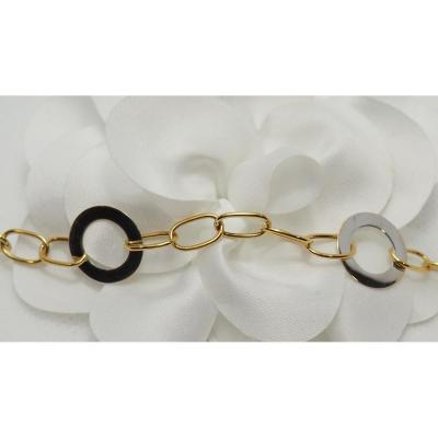 Bracelet En Or Bicolore