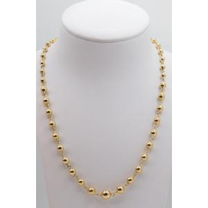 Marseillais Drop Necklace In Yellow Gold