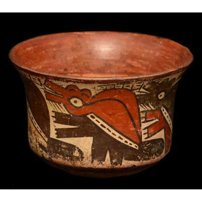 Coupe Nazca, Pérou, 200-600 ap. JC - Archéologie
