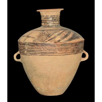 Very Large Neolithic Jar - China, 3000 Bc J. - C. - Archeology