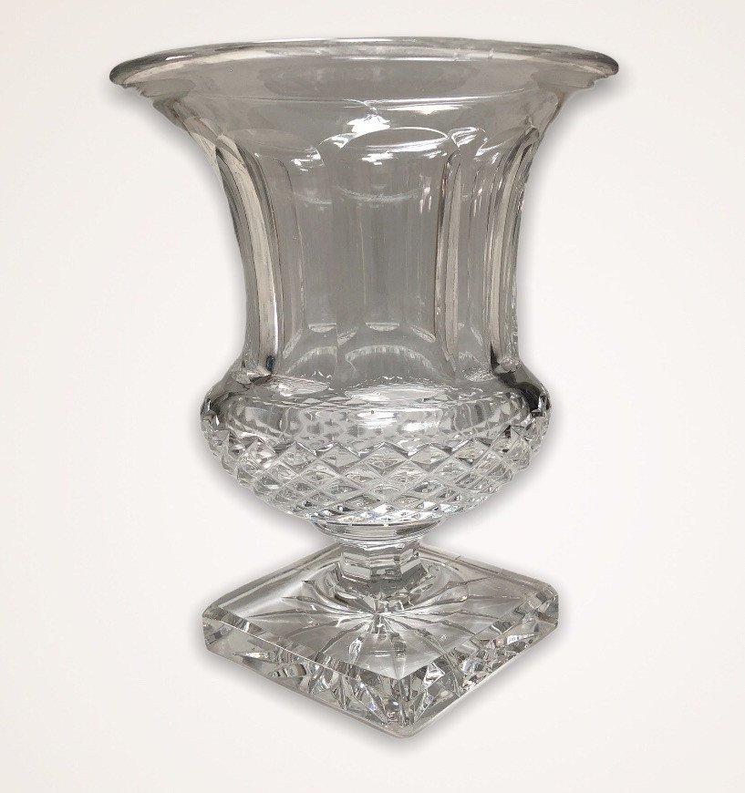 Saint Louis Crystal Versaille Vase-photo-2