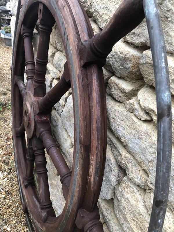 Barre à Roue En Acajou-photo-4