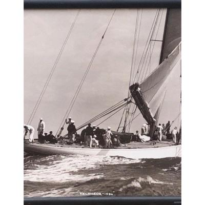 "Photographie Beken Of Cowes "" Velsheda 1934″"